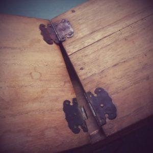 古道具 裁縫箱3画像