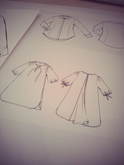 ハンドメイド 洋服 絵型