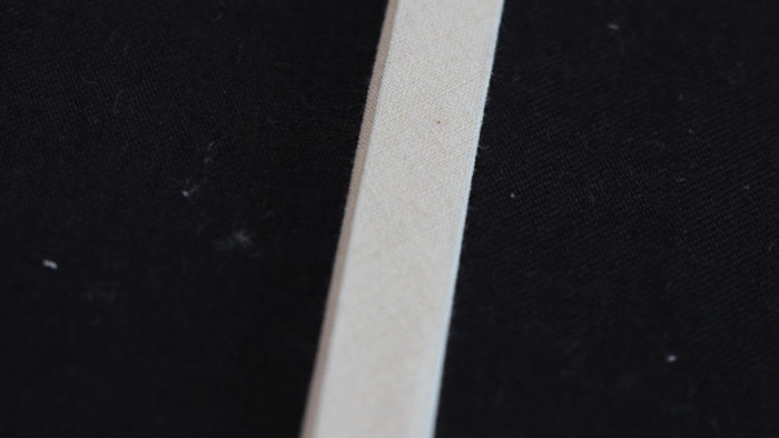 バイアステープの縫製トラブル事例1